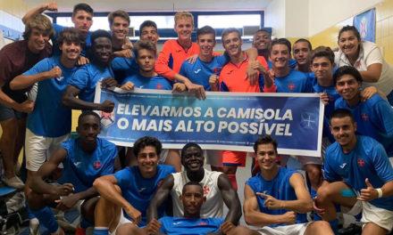 Juniores vencem no Estoril e avançam para a 2ª vitória consecutiva