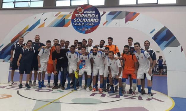 2º lugar para o futsal da Cruz de Cristo no Torneio Solidário Cidade de Viseu