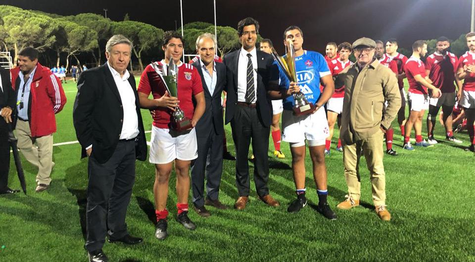 Rugby vence o jogo do Centenário na reedição do 1º desafio da Secção