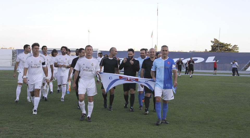 Lendas do Real Madrid no Restelo para celebrar o Centenário do Belenenses