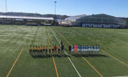 Três vitórias em quatro jogos no fim-de-semana do futebol de formação