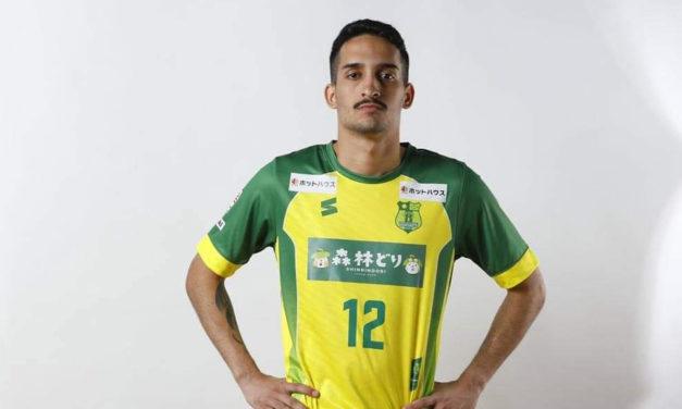 Ala brasileiro Alan Gitahy chega do Japão para reforçar o futsal do Belenenses