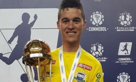 Ala Internacional Sub-20 brasileiro Marcílio é reforço para José Feijão
