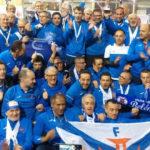 Campeões Nacionais Master em Pista Coberta em masculinos e femininos