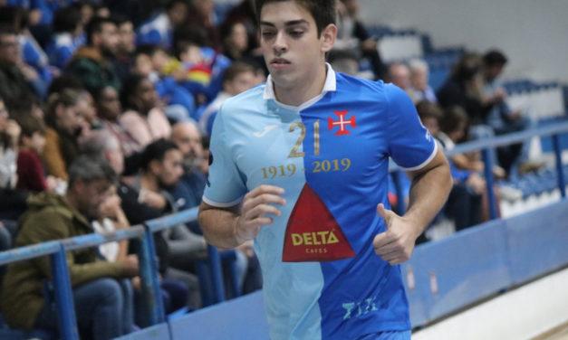 Internacional Sub-20 Gonçalo Nogueira no Restelo a título definitivo