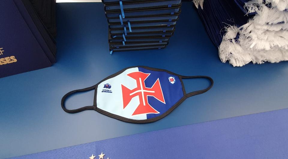 Já disponíveis as máscaras de protecção individual à Belenenses
