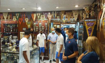 Futsal do Belenenses visitou o Museu e conhece o calendário da Liga
