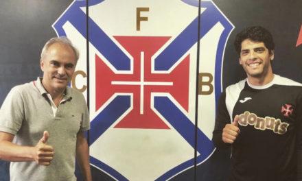 Guarda-redes Gonçalo Ferreira é reforço para Nuno Oliveira