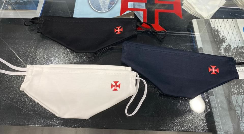 Já disponíveis as novas máscaras do Belenenses