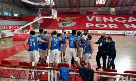 Vitória na Luz mantém Belenenses só com triunfos na Proliga