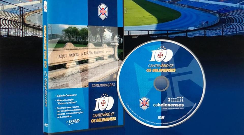 Um DVD especial para recordar o Centenário do Belenenses