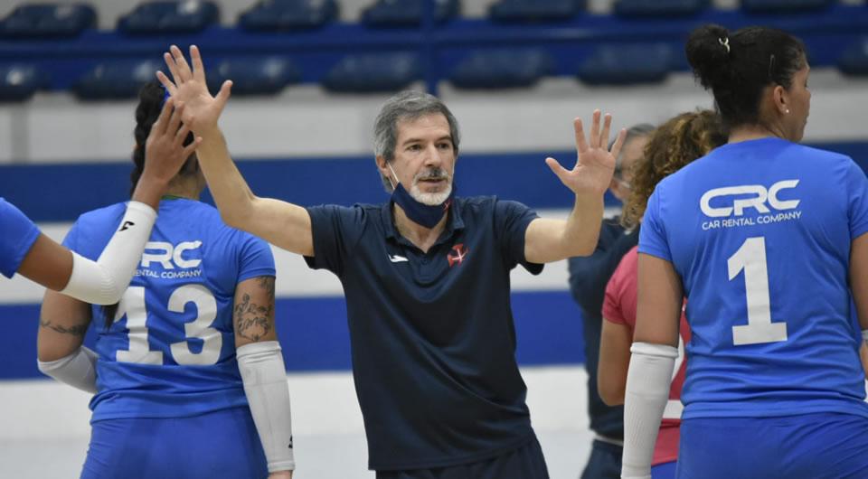João Correia deixa o comando técnico do Voleibol