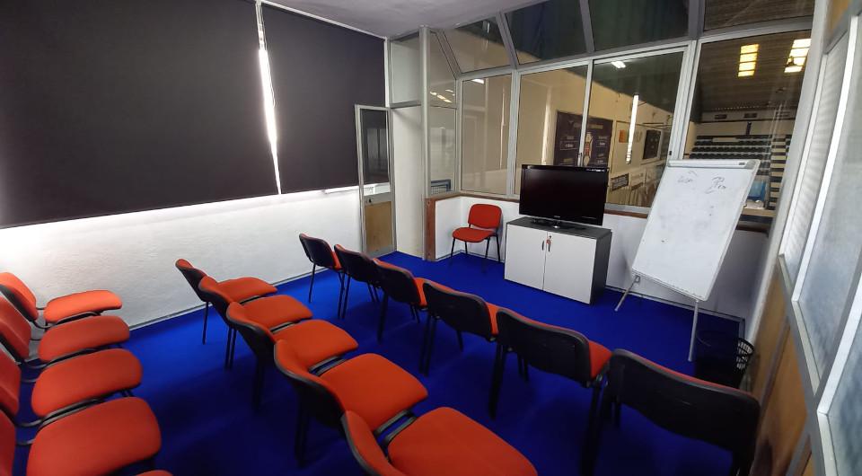 Pavilhão Acácio Rosa recebe sala de audiovisuais