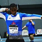 Firmino Baptista é Campeão Nacional no lançamento do peso em desporto adaptado
