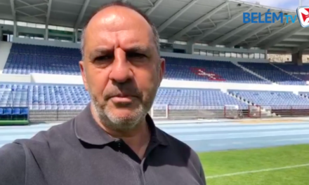Taira deixa mensagem aos Belenenses no regresso do futebol