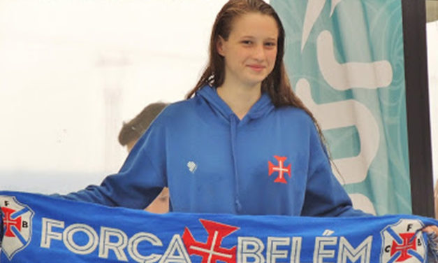 Lidiana Rodrigues chamada à Selecção Nacional Júnior de Natação