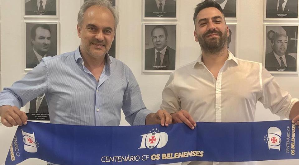 Nuno Oliveira por mais duas épocas no comando técnico do futebol do Belenenses