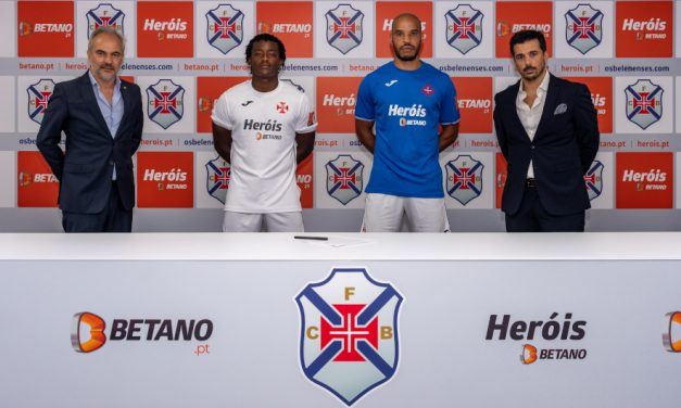 Heróis Betano é o main sponsor do Belenenses