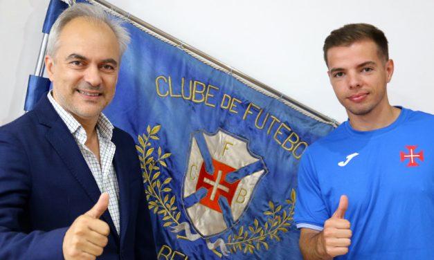 Diogo Brito avança para a terceira temporada ao serviço do Belenenses