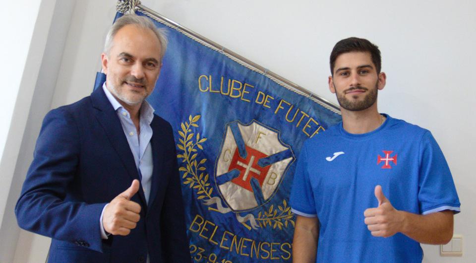 André Frias regressa aos nacionais com a camisola da Cruz de Cristo