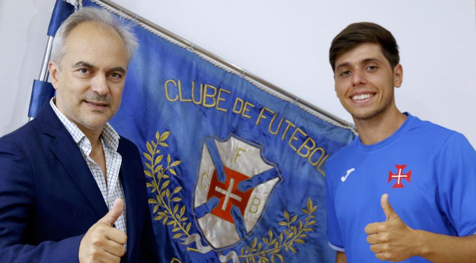 Fábio Garrido volta a ser opção nas contas para 2021/22