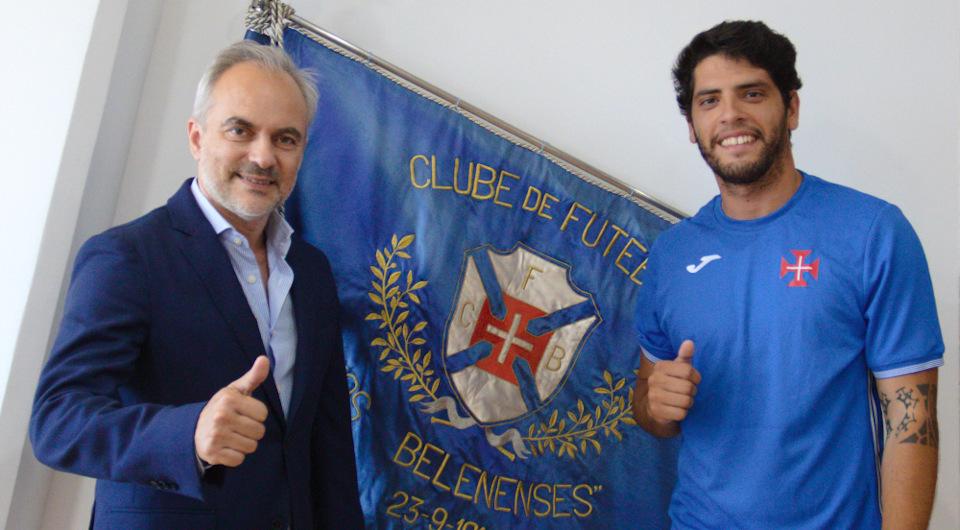 Gonçalo Ferreira volta a ser opção para a baliza