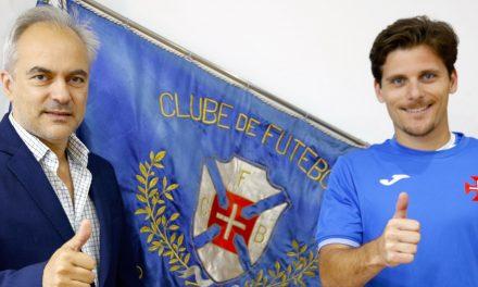 Renovação de João Oliveira confere experiência no regresso aos Nacionais
