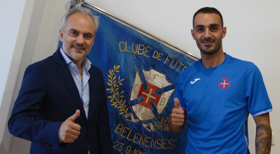 Rui Pereira chega do Alverca para reforçar meio campo dos azuis