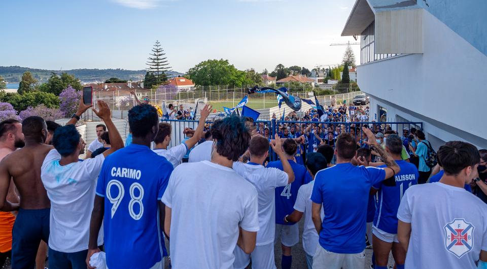 FPF valida inscrição do Belenenses no Campeonato de Portugal