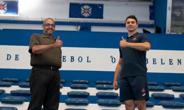 Uros Markovic é reforço da equipa sénior de andebol