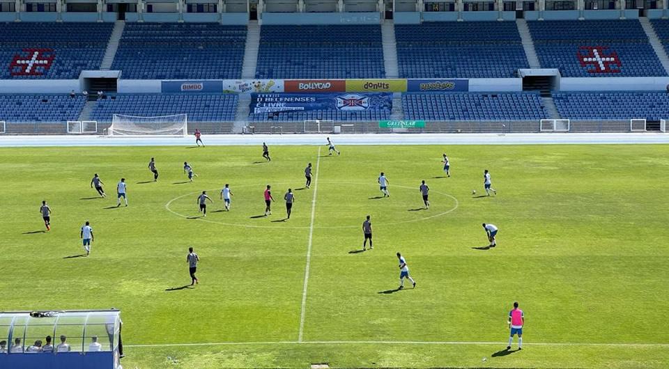 Bom teste frente ao Caldas com vários Sub-19 chamados à primeira equipa