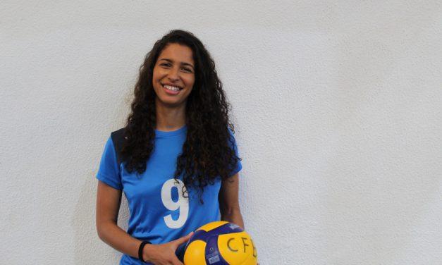 Ariane Oliveira por mais uma época ao serviço do voleibol do Belenenses