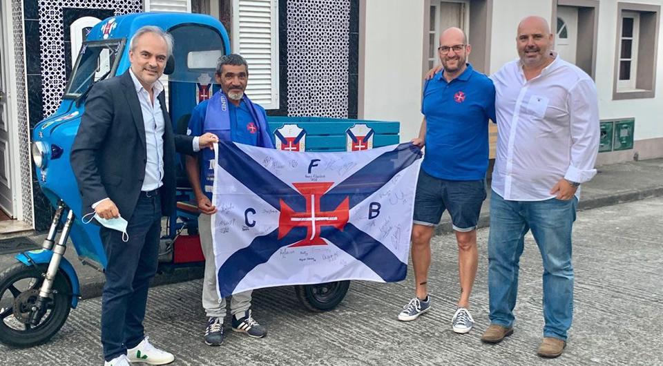 Belenenses já treinou nos Açores em dia de convívio com adeptos locais