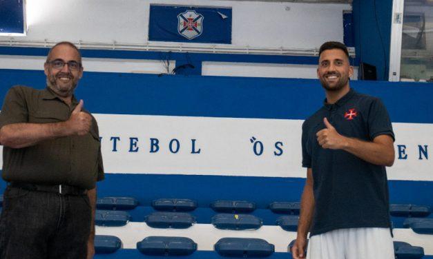 Bruno Vicente traz experiência ao plantel orientado por Tiago Guelho
