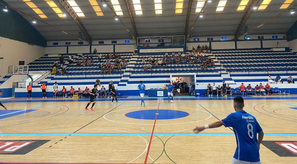 Futsal apresenta-se com uma vitória em mais um Memorial Carlos Moutinho