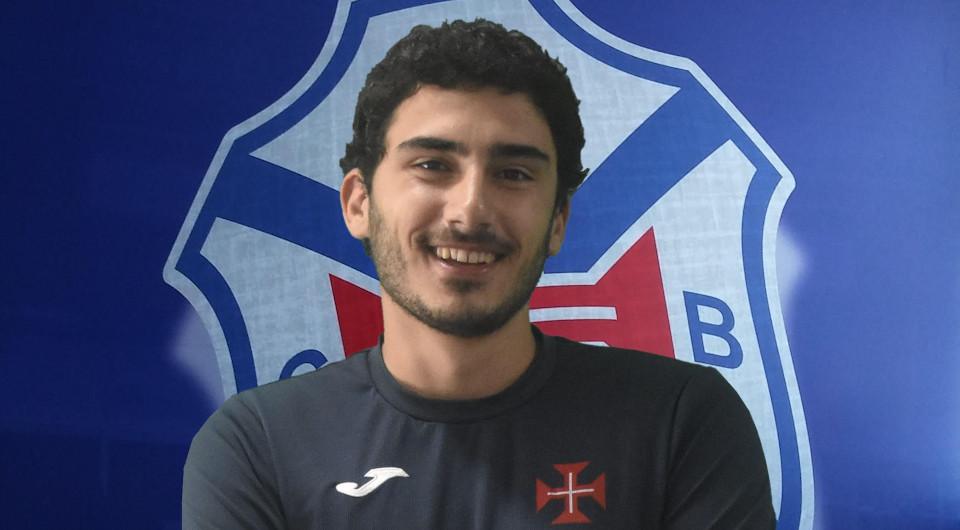 Samuel Santos, João Paulo Brito e Benny Ribolhos na estrutura dos Sub-21