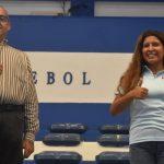 Líbero Filipa Pezarat reforça plantel de voleibol