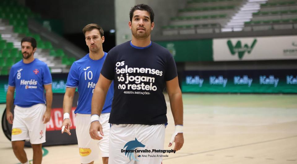 Boa réplica defensiva não chegou na deslocação ao João Rocha