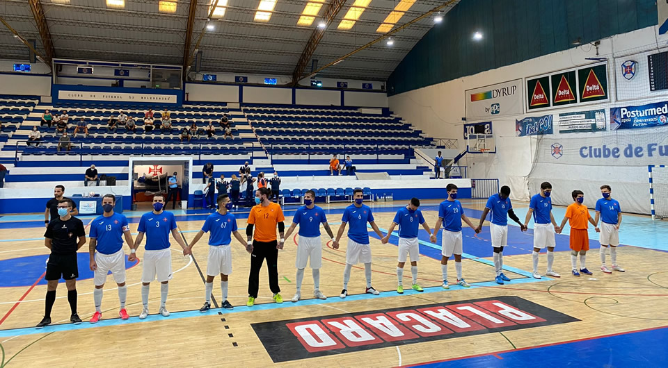 Futsal regressa aos triunfos com o melhor ataque do campeonato